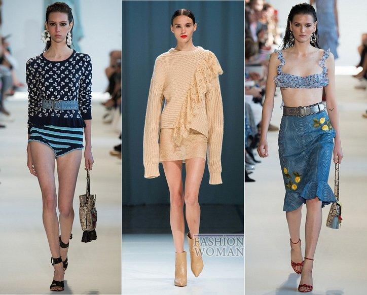Весенние тенденции моды: воланы, рюши и оборки фото №8