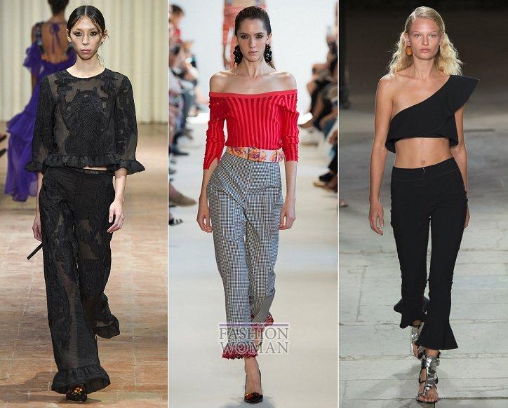 Весенние тенденции моды: воланы, рюши и оборки фото №12
