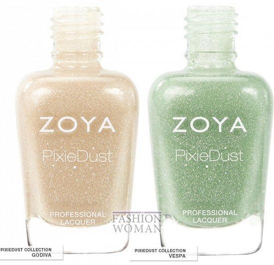 Весенняя коллекция лаков Zoya Pixie Dust  фото №4