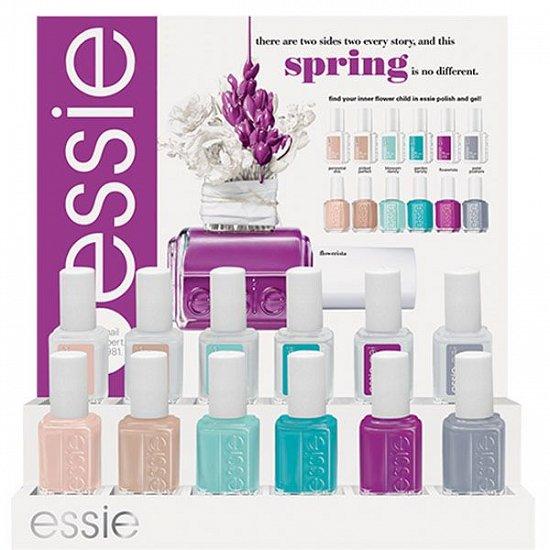 Весенняя коллекция лаков для ногтей Essie Flowerista  фото №4