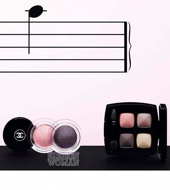 Весенняя коллекция макияжа Chanel Notes du Printemps фото №2