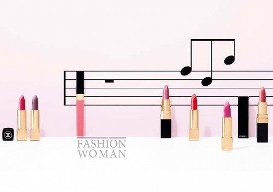 Весенняя коллекция макияжа Chanel Notes du Printemps фото №3
