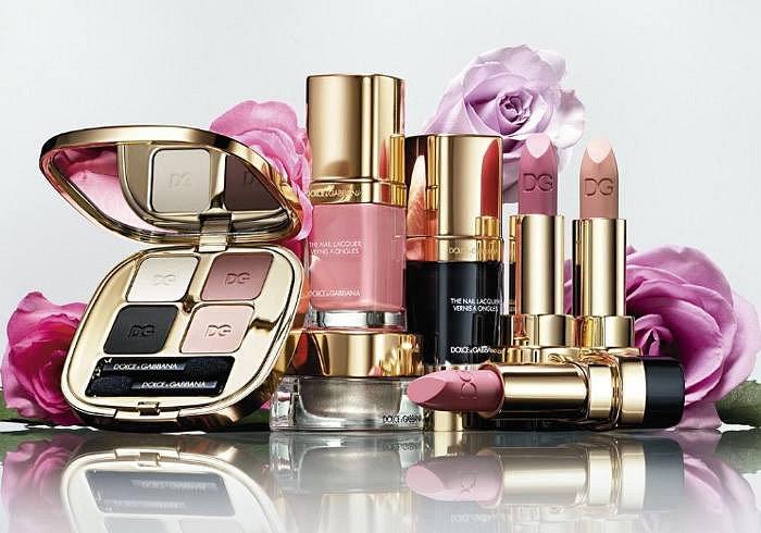 Весенняя коллекция макияжа Dolce & Gabbana Rosa Look