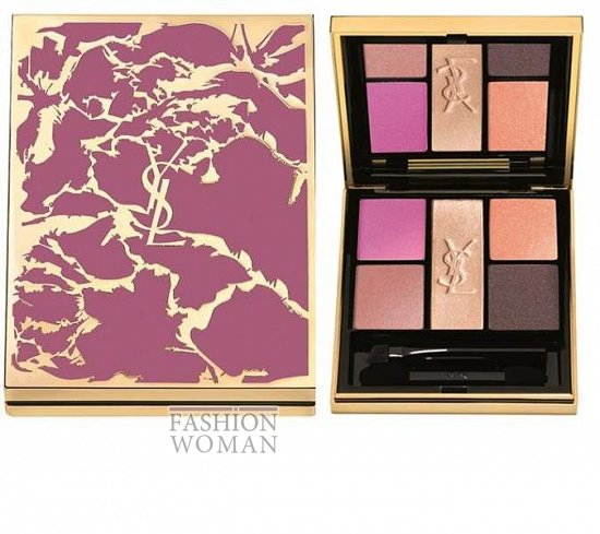 Весенняя коллекция макияжа Yves Saint Laurent Flower Crush фото №1