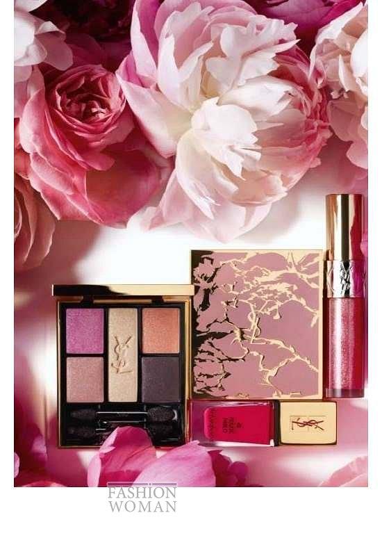 Весенняя коллекция макияжа Yves Saint Laurent Flower Crush