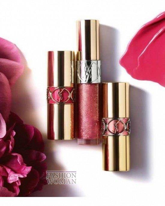 Весенняя коллекция макияжа Yves Saint Laurent Flower Crush фото №9