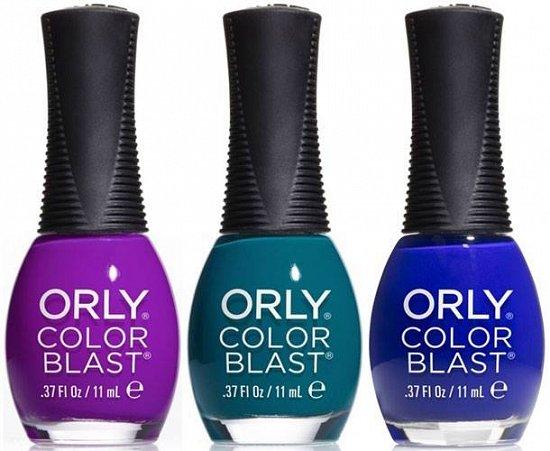 Весенняя линия лаков для ногтей Orly Disney Frozen Color Blast фото №1