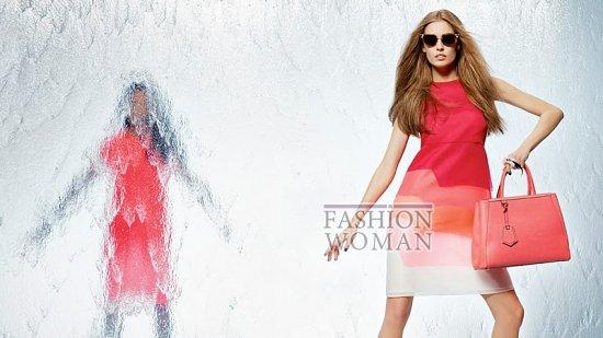 Весенняя рекламная кампания Fendi фото №1