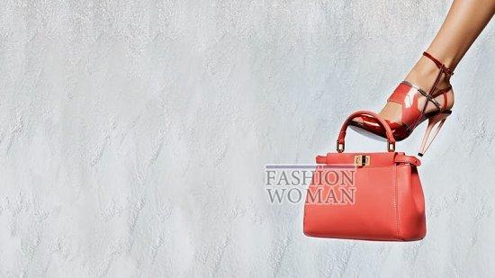 Весенняя рекламная кампания Fendi фото №17