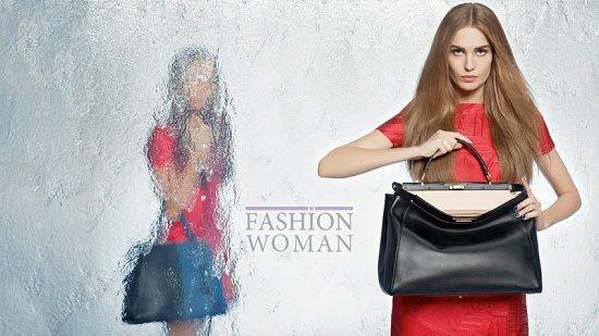 Весенняя рекламная кампания Fendi фото №5