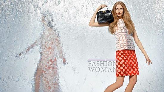 Весенняя рекламная кампания Fendi фото №8