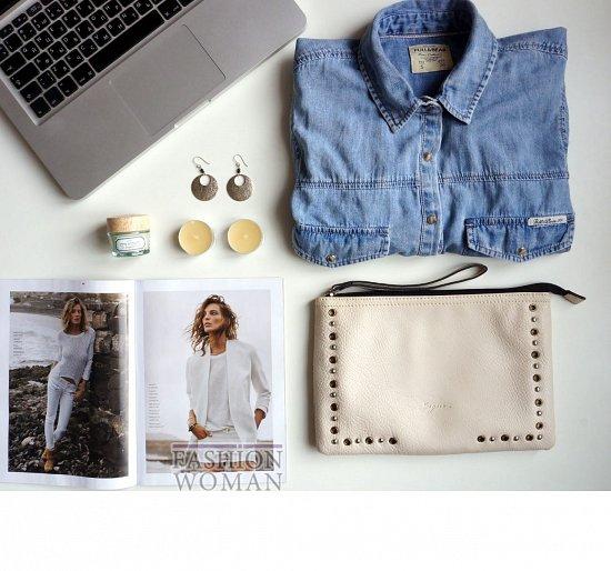 Выбор дня - джинсовая рубашка фото №1