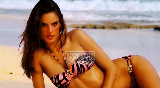 Время для пляжного отдыха - купальники Victoria's Secret лето 2012 фото №2