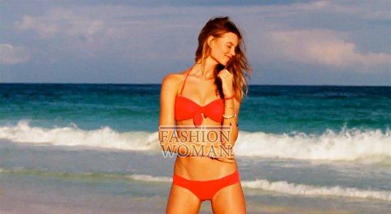 Время для пляжного отдыха - купальники Victoria's Secret лето 2012 фото №3