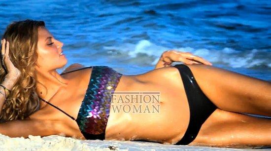 Время для пляжного отдыха - купальники Victoria's Secret лето 2012 фото №4