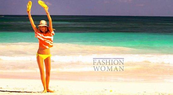 Время для пляжного отдыха - купальники Victoria's Secret лето 2012 фото №5