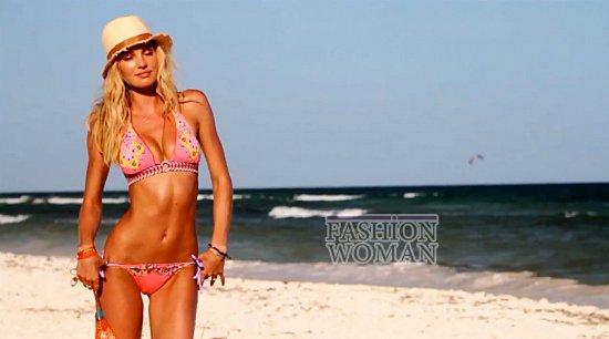 Время для пляжного отдыха - купальники Victoria's Secret лето 2012 фото №6