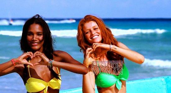 Время для пляжного отдыха - купальники Victoria's Secret лето 2012 фото №7