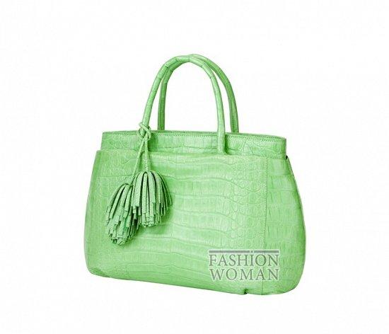 Яркие сумки Nancy Gonzalez  весна-лето 2013 фото №12