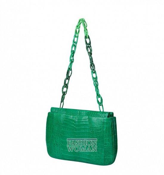 Яркие сумки Nancy Gonzalez  весна-лето 2013 фото №25