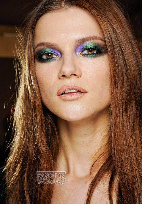 макияж с показа Roberto Cavalli