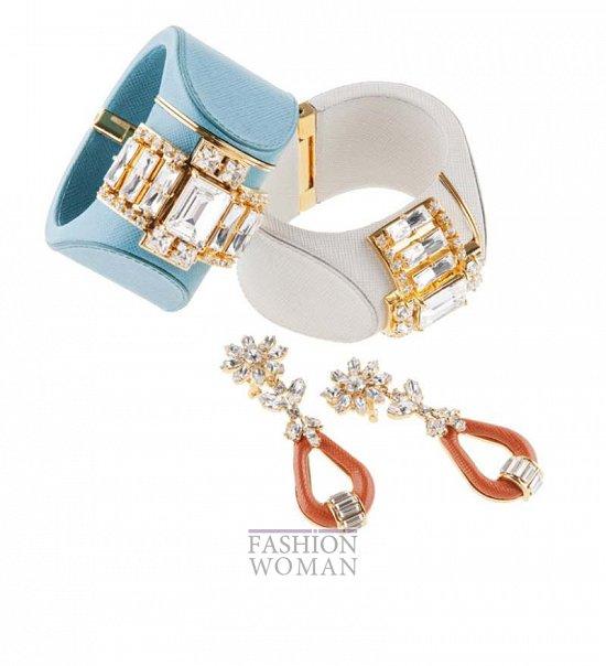 Ювелирные украшения Prada фото
