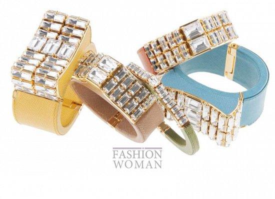 Ювелирные украшения Prada весна-лето 2014 фото №9