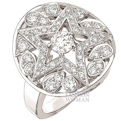 кольцо с бриллиантами Chanel