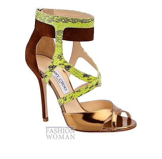 Женская обувь Jimmy Choo весна-лето 2014 фото №8
