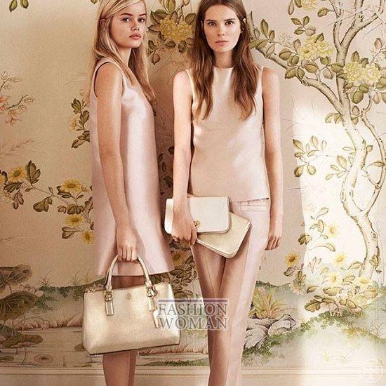Женская одежда Tory Burch весна 2014 фото №6