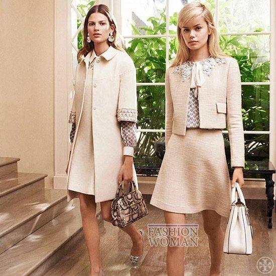 Женская одежда Tory Burch весна 2014 фото №8