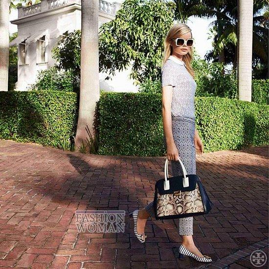 Женская одежда Tory Burch весна 2014 фото №10