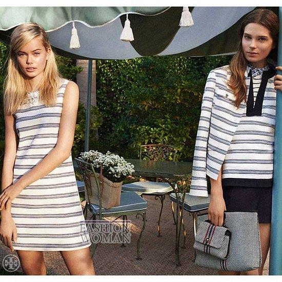 Женская одежда Tory Burch весна 2014 фото №11