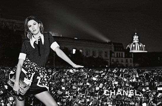 Жизель Бундхен в рекламной кампании Chanel весна-лето 2015 фото №2