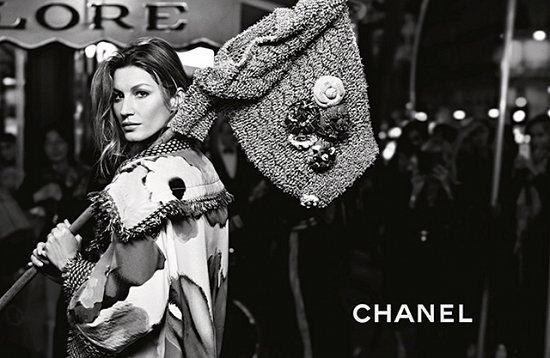 Жизель Бундхен в рекламной кампании Chanel весна-лето 2015 фото №4