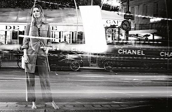 Жизель Бундхен в рекламной кампании Chanel весна-лето 2015 фото №5