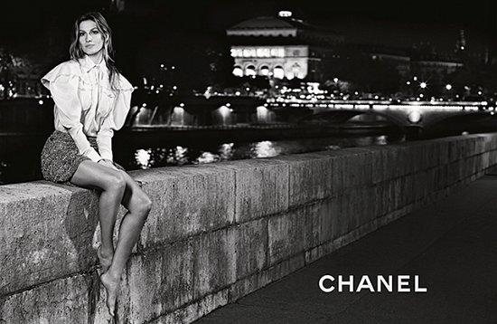 Жизель Бундхен в рекламной кампании Chanel весна-лето 2015 фото №9