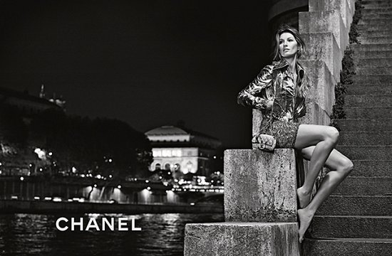 Жизель Бундхен в рекламной кампании Chanel весна-лето 2015 фото №10