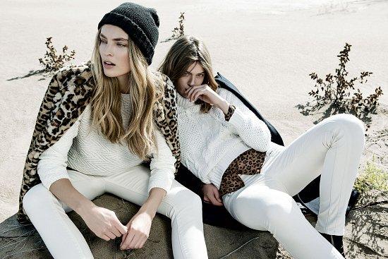 Лукбук зимней одежды Stradivarius 2014