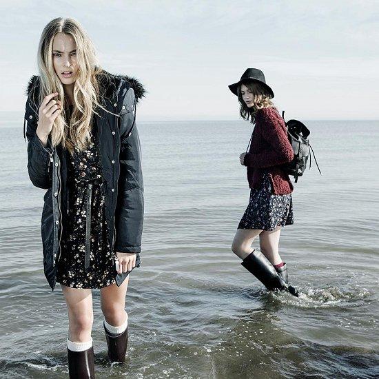 Лукбук зимней одежды Stradivarius 2014 фото №17