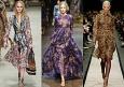 Шифоновое платье - модный хит осени