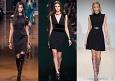 Маленькое черное платье осень-зима 2014-2015
