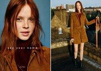 Рекламная кампания Zara TRF осень-зима 2015-2016