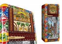Коллекция холодильников Dolce & Gabbana и Smeg