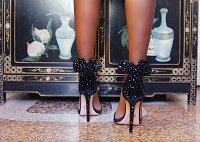 Оригинальные туфли с ушками Minnie Mouse by Oscar Tiye