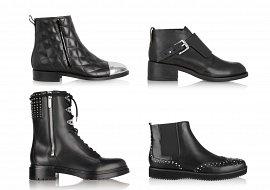 Ботинки в мужском стиле