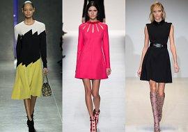 Модные платья осень-зима 2014-2015