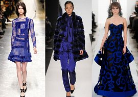 Синий - модный цвет сезона