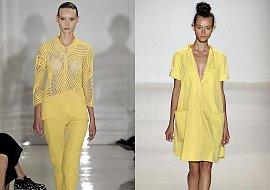Тренд сезона - желтый цвет