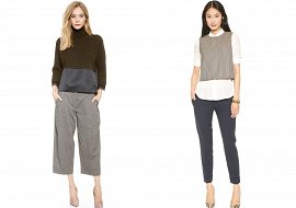 Укороченные брюки - модный тренд сезона